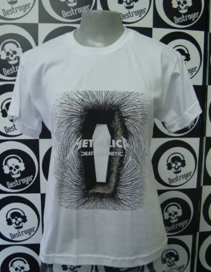 Baby look Metallica - Death Magnetic