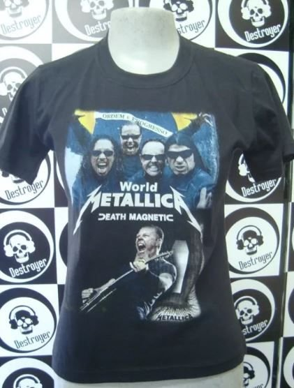 Baby look Metallica - Death Magnetic World Tour