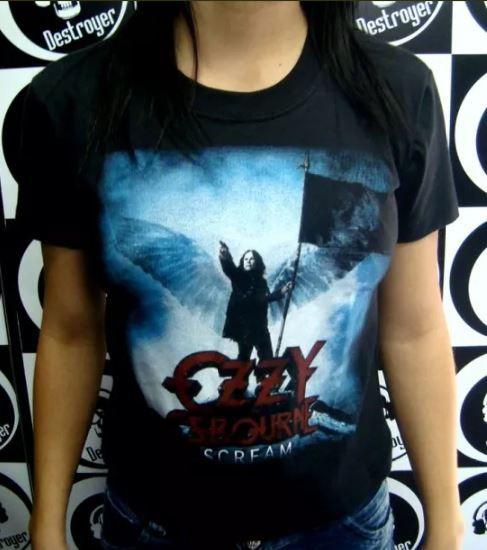 Baby look Ozzy Osbourne - Scream