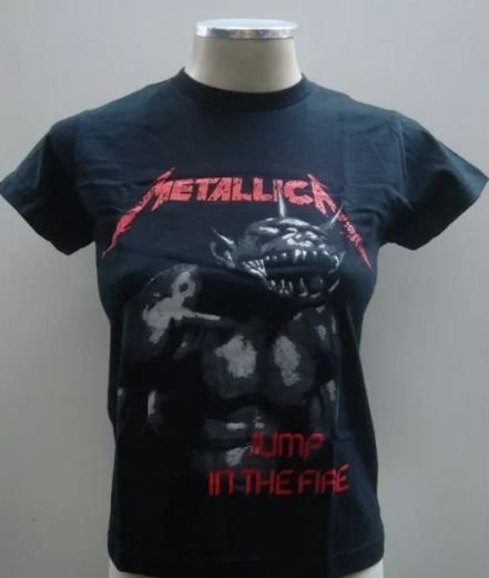 Baby look - Metallica - Jump in the Fire
