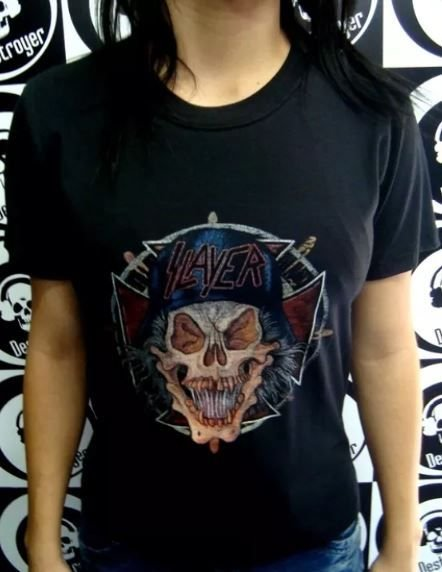 Baby look Slayer - Skull