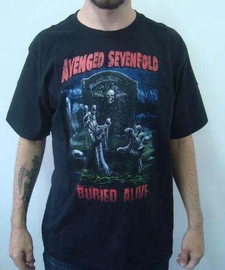 Camiseta Avenged Sevenfold - Buried Alive