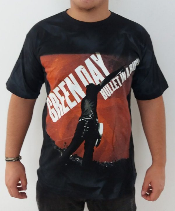 Camiseta Green Day - Bullet in a Bubble