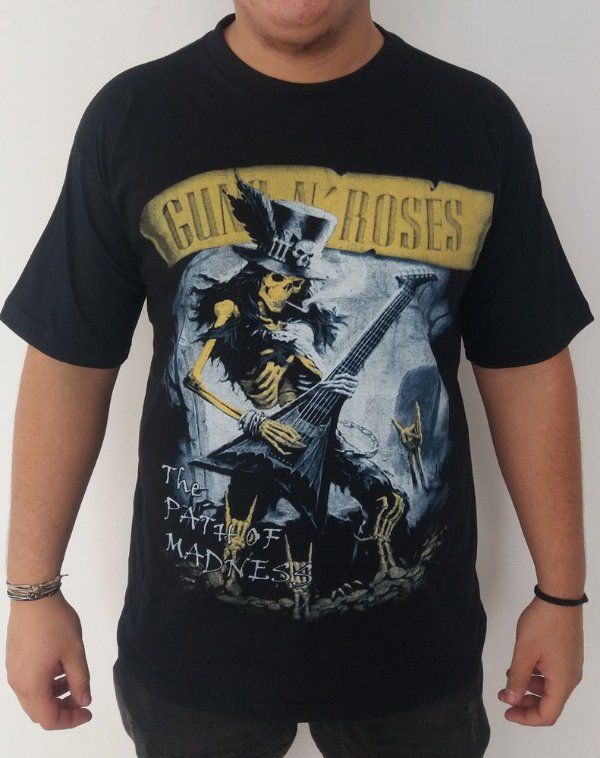 Camiseta Guns and Roses - The Path of Madness