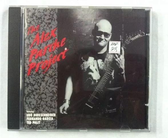 CD Alex Parche Project - Importado