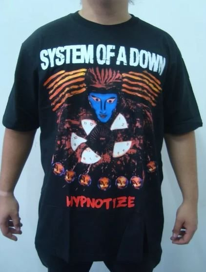 Camiseta System of a Down - Hypnotize - Loja Destroyer bdcea238b1a6a