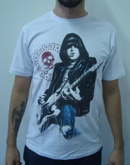 Camiseta Ramones - Johnny Ramone