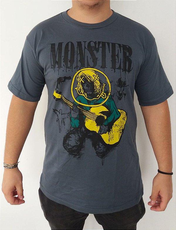 Camiseta Nirvana - Monster