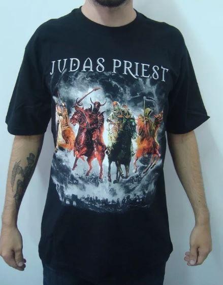 Camiseta Judas Priest - Nostradamus