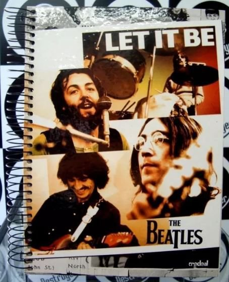 Caderno 10 matérias The Beatles - Let it be