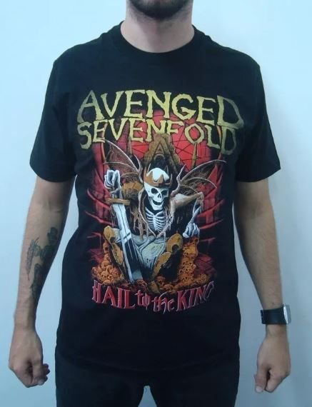 Camiseta Avenged Sevenfold - Hail to The King
