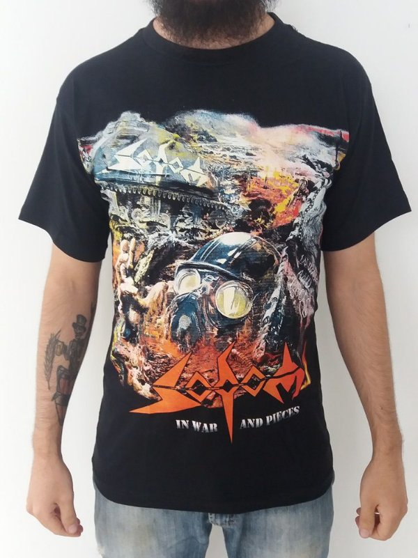 Camiseta Sodom - In War and Pieces