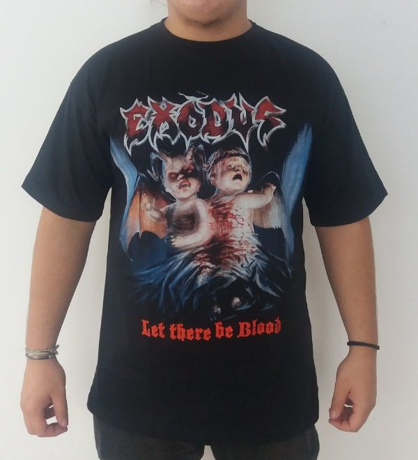 Camiseta Exodus - Let there be blood