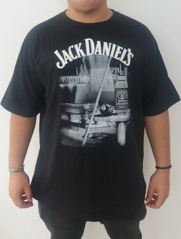 Camiseta Jack Daniel's - Bola 8