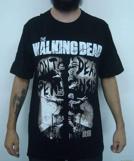 Camiseta The Walking Dead - Don't open, Dead Inside