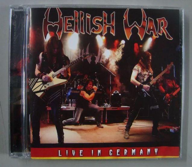 CD Hellish War - Live in Germany