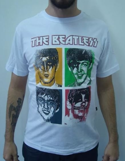 Camiseta The Beatles - Beatless