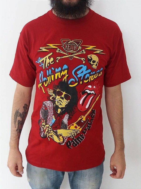 Camiseta The Rolling Stones - Paint in Black