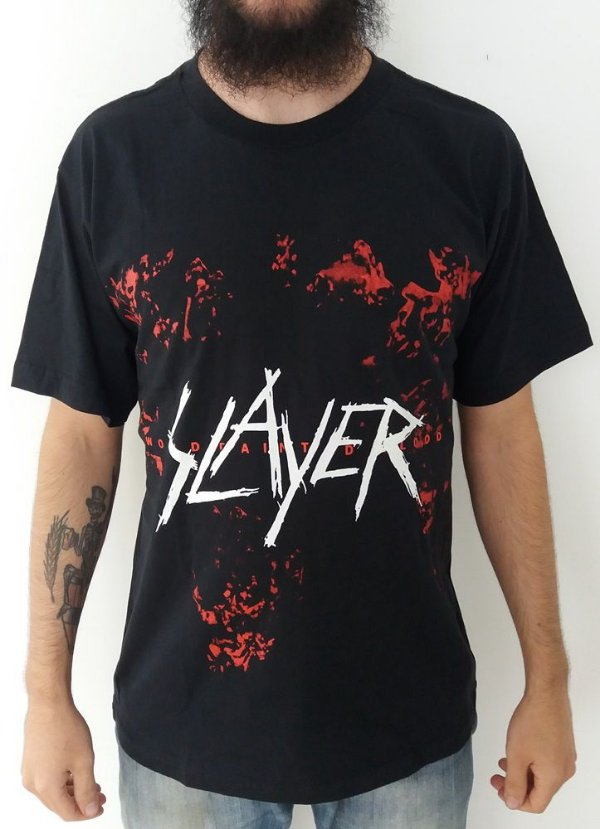 Camiseta Slayer - World Painted in Blood