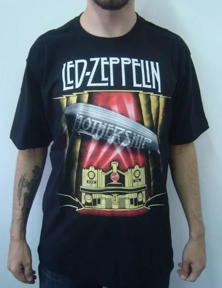 Camiseta Led Zeppelin - Mothership