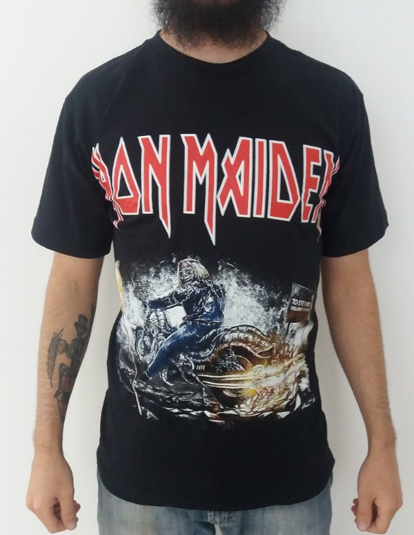 Camiseta Iron Maiden - To eternity follow this line