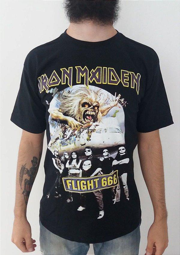 Camiseta Iron Maiden - Flight 666