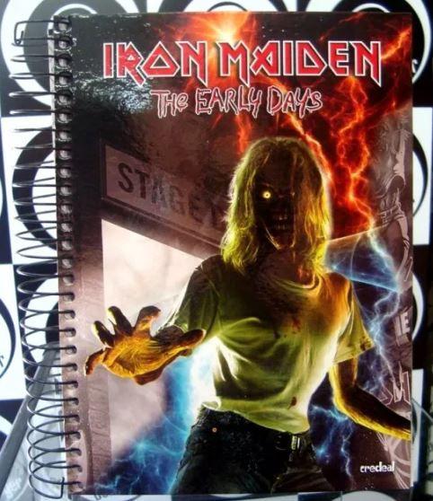Caderno Escolar - Iron Maiden - The Early Days