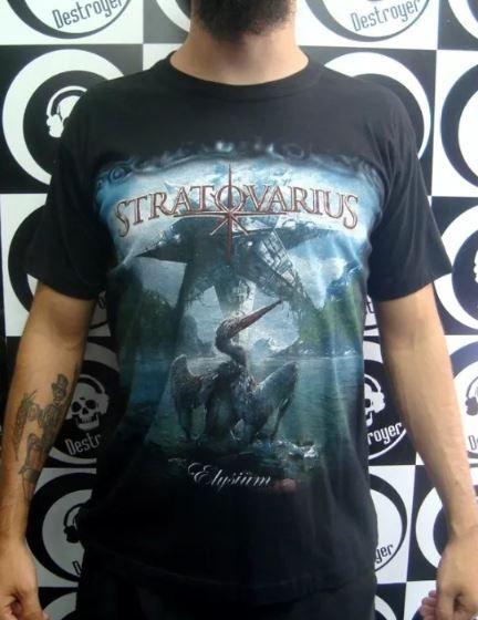 Camiseta Stratovarius - Elysium
