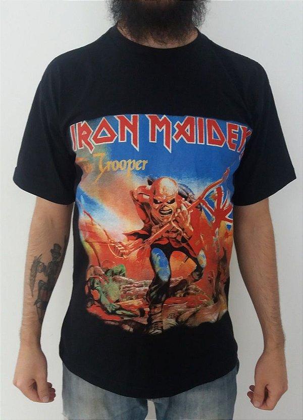 Camiseta Iron Maiden - The Trooper