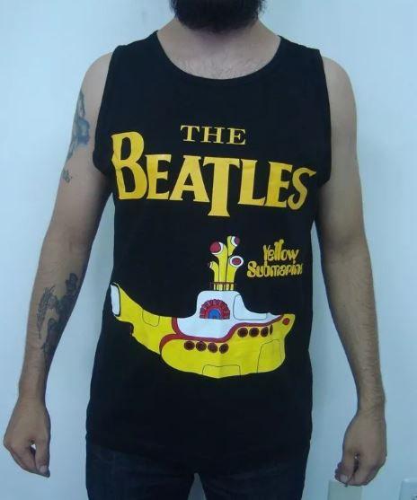 Camiseta regata The Beatles - Yellow Submarine