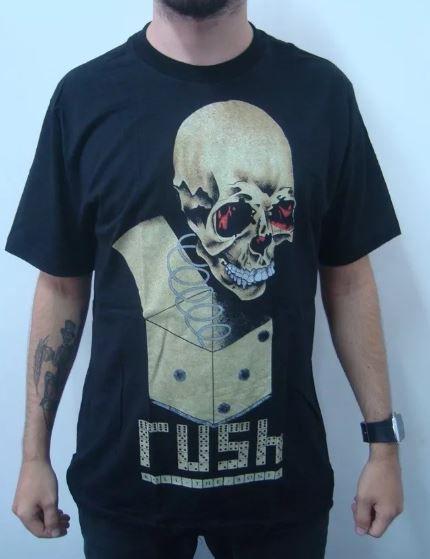 Camiseta Rush - Roll the Bones