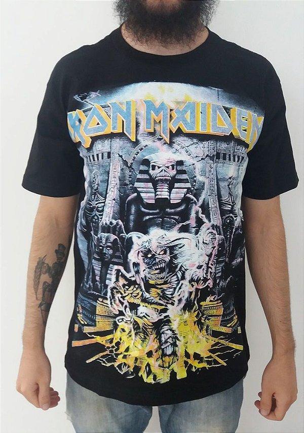 Camiseta Iron Maiden - Somewhere back in time