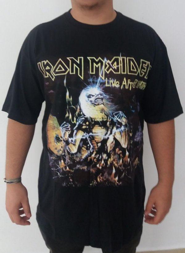 Camiseta Iron Maiden - Live after Death