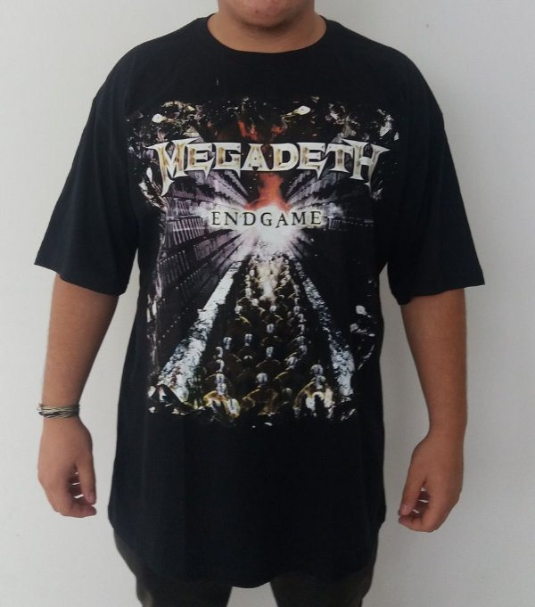 Camiseta Megadeth - Endgame