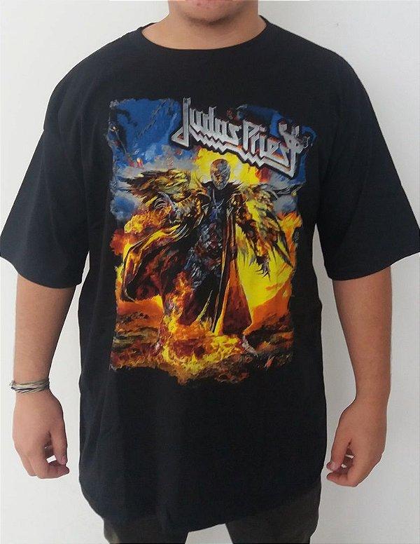 a39deb96abdc7 Camiseta Judas Priest Redeemer of SOuls - Loja Destroyer