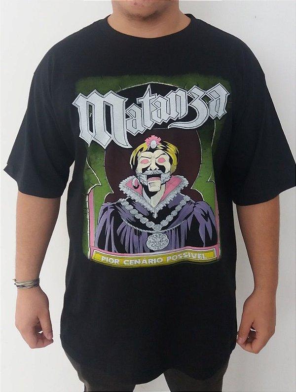 Camiseta Matanza - Pior cenário possível