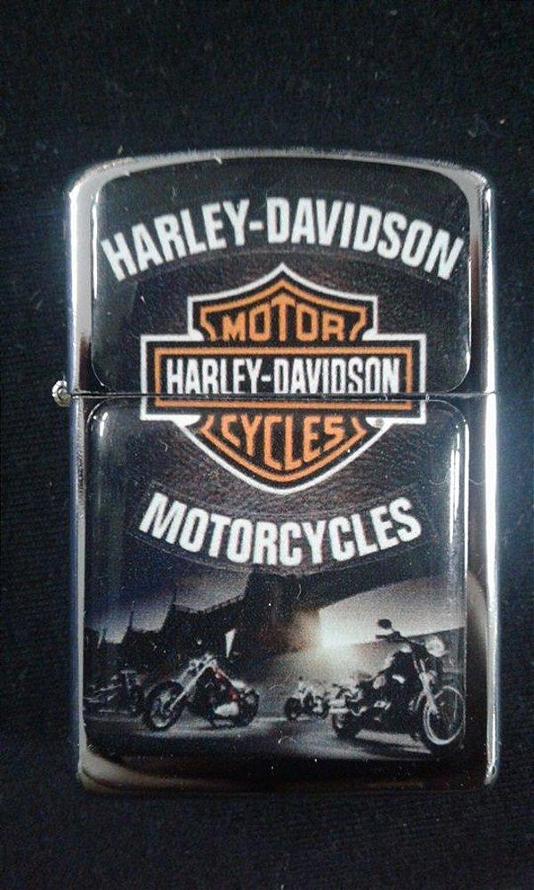 Isqueiro - Harley Davidson Motorcycles - motos