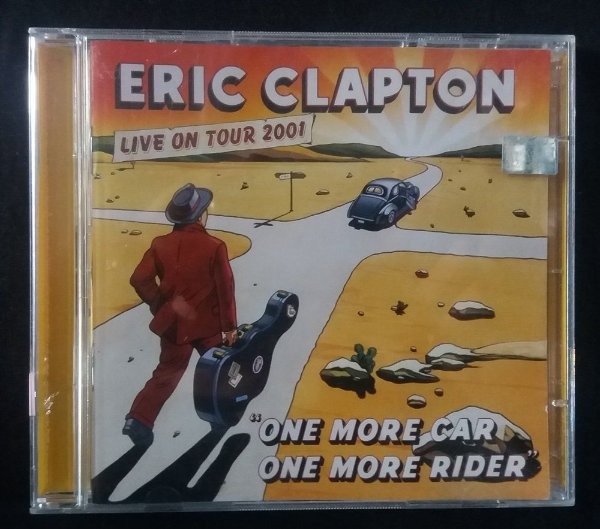 CD Eric Clapton - One more Car, One more Rider - Live on tour 2001