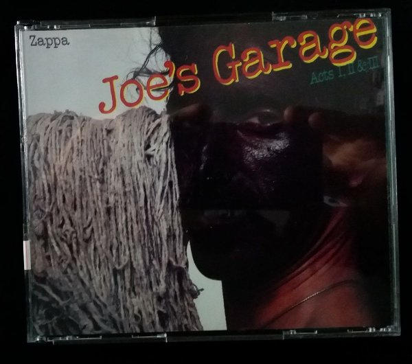 CD Frank Zappa - Joe's Garage Acts 1 2 e 3 - Duplo