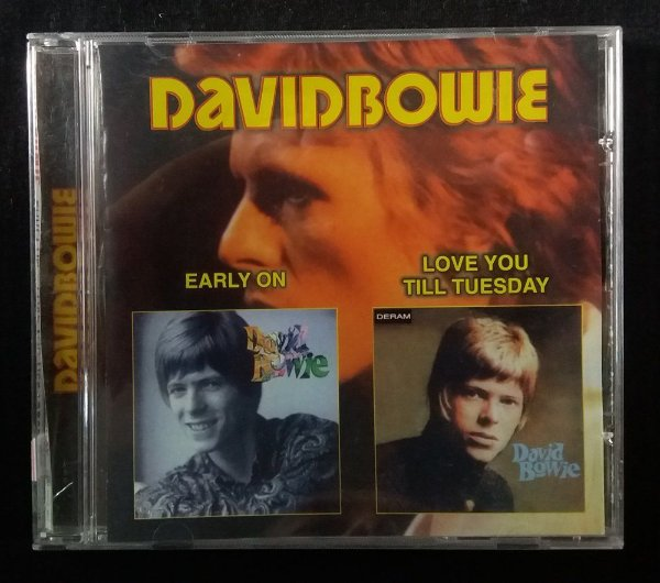 CD David Bowie - Early on + Love you till Tuesday - Importado