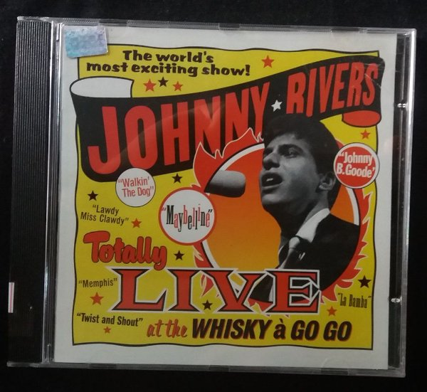 CD JOhnny Rivers - Totally Live at the Whisky A Go Go