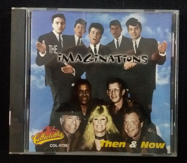 CD The Imaginations - Then & Now - Importado