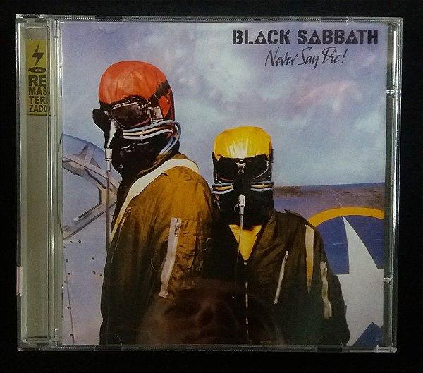 CD Black Sabbath - Never Say Die !