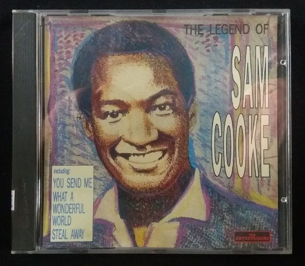 CD Sam Cooke - The legend of Sam Cooke - Importado