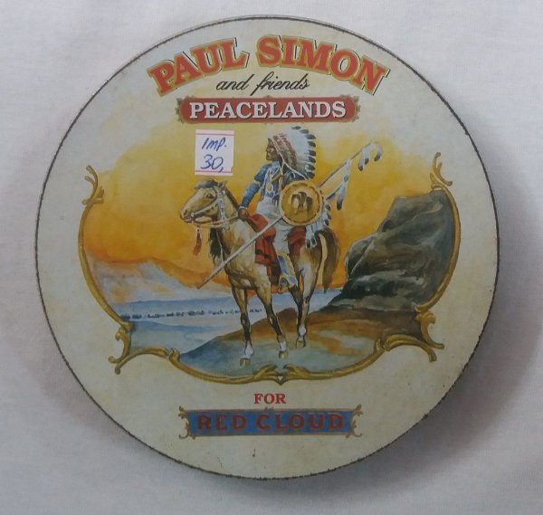 CD Paul Simon and Friends - Peacelands - For Red Cloud - Importado