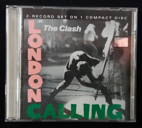CD The Clash - London Calling - Importado