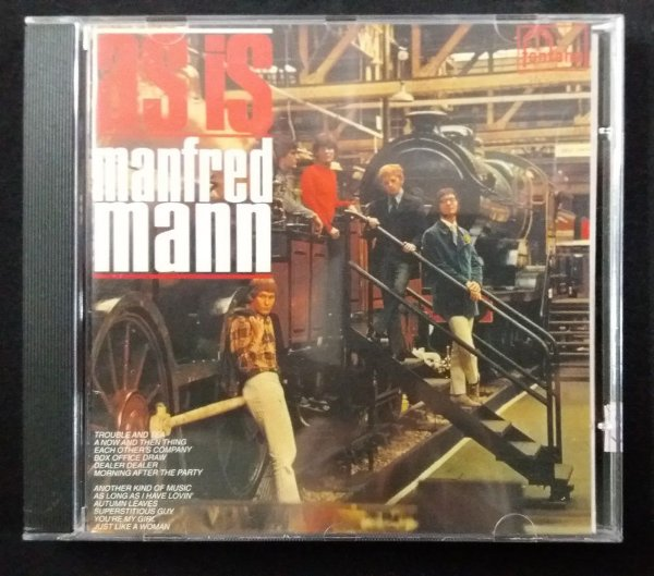 CD Manfred Mann - Fontana Years Vol. 1 - As Is - Importado