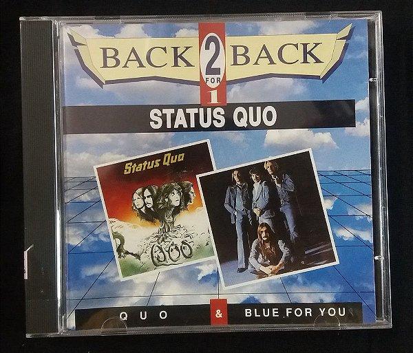 CD Status Quo - Quo + Blue for You - 2 em 1 - Importado