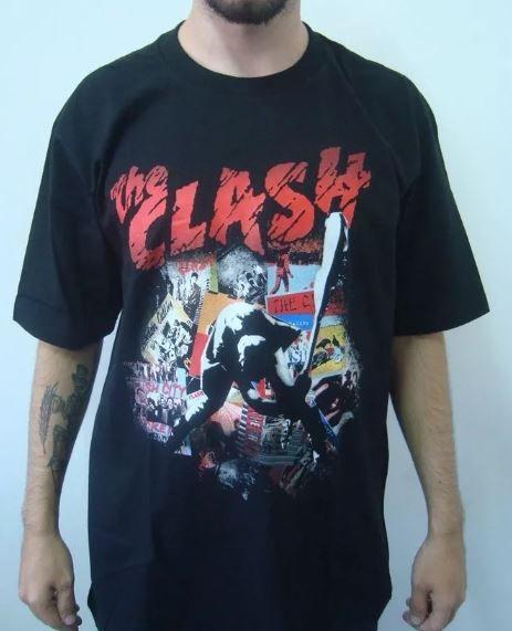 Camiseta The Clash - London Calling