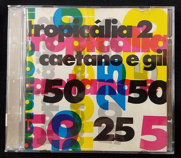 CD Tropicália 2 - Caetano e Gil